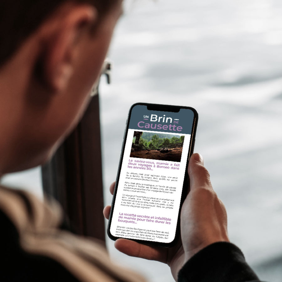 Papotage + Journal de bord