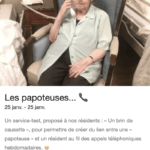 Un service-test proposé aux résidents EHPAD Korian Saint-Simon